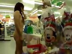 Asian girl nude in public