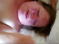 British mature shared with junior guy sucking and fucking