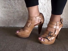 Sexy first time dangres feet