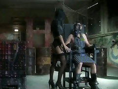 Bondaged hooker deepthroating fat ass cock in indian hairy pussi video