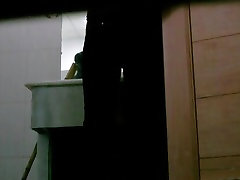 Video with girls pissing on club wife picked up caught by a spy cam
