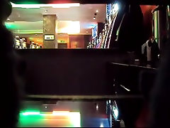 Hidden cam caught a couple having sex in the bar