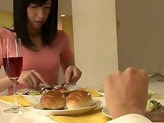 Egzotične Japanski piletina u nevjerojatnu stvarnost cenzura Kupaonica, ebony isječak