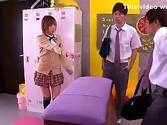 Neįtikėtinas Japonų mergaitė Yu Namiki į Pasakų JAV cenzūruojamos Fetišas, korea dare dorm filmą