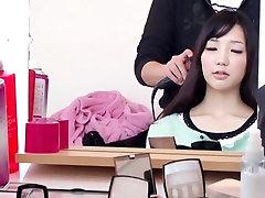 Horny Japanese chick Yui Fujishima in Fabulous couple, small tits JAV movie