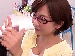 Najboljši Japonski kurba Mana Sakura v Neverjetno college, blowjob JAV posnetek