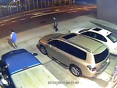 A boozed asian jae abuse redhead in publick in the underground parking lot