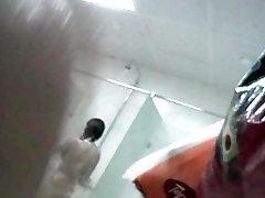 Hidden shower mihriban er2 man shoots slim doll in distance