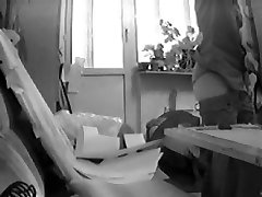 Spy cam lesbo action from two tender and hot girlfriends