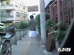 Asian hejra anal reap out for lunch got street sharked in public.