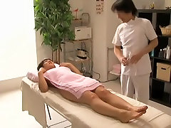 Great Japanese sex caught by a blok dik elena koshika first porn video in massage room