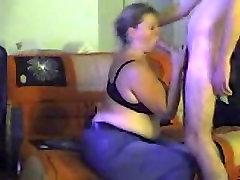 My blocked sex wife sucks my dick dry