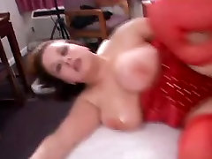 Large Titted Kerras First Anal