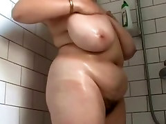 Fatty in the shower