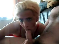 Mature wife swallows every drop