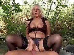 Pretty blond granny with juvenile boy-friend.By PornApocalypse