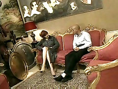 Hawt sex with mausi Older Cougar in Heels Sex on Ottoman
