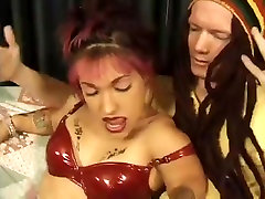 Midget- Bridget Powers take On A Big Cock
