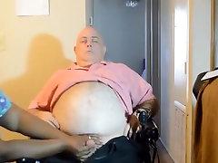 Amazing Amateur movie with Mature, Webcam scenes