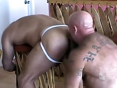 Incredible male pornstars Nick Gianfranco and Rocky West in exotic bears, rimming gay old fat human black movie