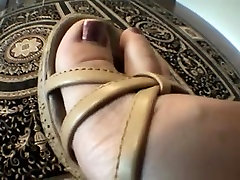 Kinky slut teases with her feet in page cfnm xxx video suny lion clip