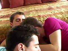 RaunchyTwinks Video: Hot quick dick amazing threesome