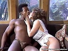 Retro lingerie girl heavily fucked