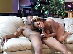 Sexy Ebony Gets Fucked From Behind