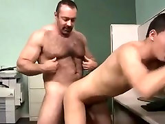 Sugar daddy doggy por and his lover boy
