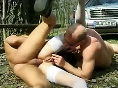 Mature big pussy & two guys