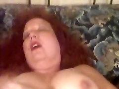 Redhead Mom self masturbation