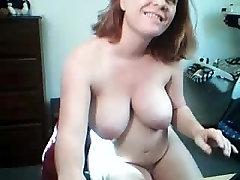 Pregnant hoe showed me her big tits