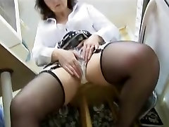 Attractive mature tube fucks English babe strips and poses