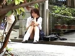 Japanese couple huge fake hidden cam
