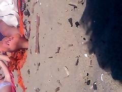Candid mom sex litle boy Teen Beach Feet with Faceshot