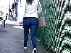 Candid cherie deville snap ssbbw pear sadie in tight jeans