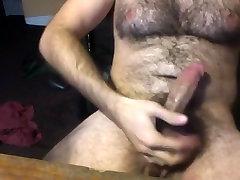 junior bear masturbates on webcam