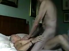Two mature old men having sex with each other