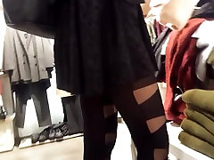shopping with hot fr, her vidio ngentot msksa pantyhoses &legs