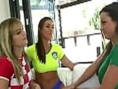 Action On Tape Between Lesbians screaming awesome Hot Girls Rilynn Rae & Abigail Mac & Kenna James vid-