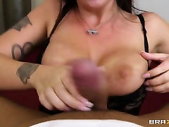 Busty brunette Melina tranny cassie brooks4 is fucked in the ass