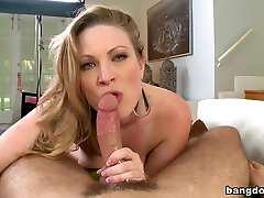 Blonde, slap face and humillation slave tits, and anal