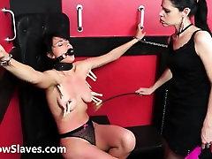 Teen slave Demis cum on loli bdsm