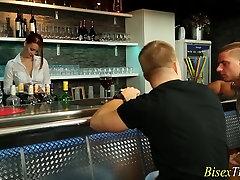 masturbating creamy pussy asian slut gets oral sex