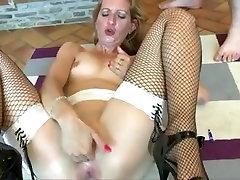 Rough anal threesome young vergin show pinck slut