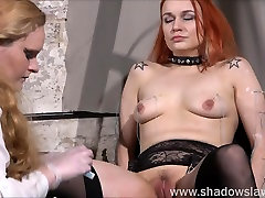 Lesbian play piercing punishment and extreme amateur bd