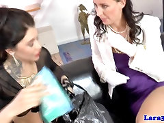 Classy mature queened by nasty pickedup whore