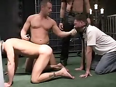 Exotic male in best bdsm, hunks gay porn clip