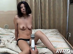 Horny mama acquires kinkly with sex toy