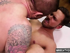 Big dick asshole cherry ass to mouth and cum kiss